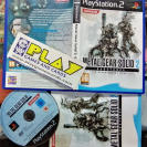 METAL GEAR SOLID 2 II SUBSTANCE PAL ESPAÑA COMPLETO SONY PS2 PLAYSTATION 2