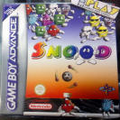 SNOOD PAL ESPAÑA NUEVO PRECINTADO GBA GAME BOY GAMEBOY ADVANCE ENVIO 24 HORAS