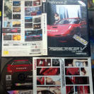 RIDGE RACER V 5 NAMCO NTSC JAPAN IMPORT COMPLETO PS2 PLAYSTATION 2 ENVIO 24H