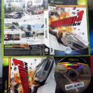 BURNOUT 3 III TAKEDOWN BURN OUT TAKE DOWN PAL COMPLETO MICROSOFT XBOX CLASSIC