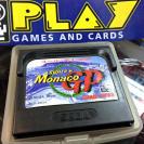 SUPER MONACO GP SEGA GAME GEAR CARTUCHO CON FUNDA PAL ESPAÑA BUEN ESPAÑA