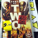 ARMY OF TWO THE 40th DAY PAL ESPAÑA PSP NUEVO PRECINTADO ENVIO AGENCIA 24H