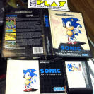 SONIC THE HEDGEHOG SEGA MEGADRIVE COMPLETO BUEN ESTADO PAL ESPAÑA SONIC TEAM