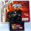 BATMAN VENGEANCE JUEGO + MANUAL GAMEBOY ADVANCE GAME BOY GBA ENVIO CERTIFICADO