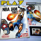NBA JAM 2002 GAME BOY ADVANCE GBA GAMEBOY GAME BOY ADVANCED PAL ESPAÑA