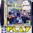 F1 F-1 LIVE INFORMATION NTSC JAPAN IMPORT SEGA SATURN ENVIO CERTIFICADO/ 24H