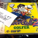 POWER GOLF 2 GOLFER PC ENGINE SUPER CD ROM 2 JAP NUEVO NEW PRECINTADO SEALED