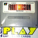 FRONT MISSION CARTUCHO NTSC JAPAN IMPORT SNES SFC SUPER FAMICOM NES NINTENDO