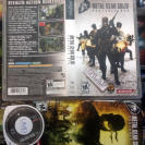 METAL GEAR SOLID PORTABLE OPS PSP NTSC USA BUEN ESTADO ENVIO CERTIFICADO / 24H