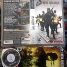 METAL GEAR SOLID PORTABLE OPS PSP NTSC USA BUEN ESTADO ENVIO CERTIFICADO / 24H