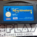 BARBIE HORSE ADVENTURES THE BIG RACE PAL CARTUCHO GAME BOY ADVANCE GAMEBOY GBA