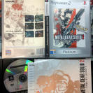 METAL GEAR SOLID 2 II SONS OF LIBERTY PAL ESPAÑA PS2 HIDEO KOJIMA PLAYSTATION