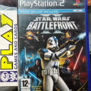 STAR WARS BATTLEFRONT II PAL ESPAÑA PS2 PLAYSTATION 2 ENVIO CERTIFICADO / 24H