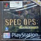 SPEC OPS STEALTH PATROL PAL ESPAÑA NUEVO PRECINTADO PSX PLAYSTATION PSONE PS1