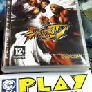 STREET FIGHTER 4 IV PS3 PLAYSTATION 3 NUEVO PRECINTADO PAL ESPAÑA ENTREGAAGENCIA