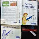 SECRET COMMAND PAL ESPAÑA COMPLETO MASTER SYSTEM ENVIO CERTIFICADO/ AGENCIA 24H