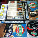 SEGA RALLY CHAMPIONSHIP INTERNATIONAL RALLY SEGA SATURN COMPLETO RACING GAME