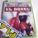 DON KING EL BOXEO XBOX 360 PAL ESPAÑA NUEVO PRECINTADO NEW FACTORY SEALED