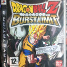 DRAGON BALL Z BURSTLIMIT BURST LIMIT PAL ESPAÑA  PS3 PLAYSTATION 3 ENVIO 24H