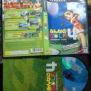 MINNA NO EVERYBODY'S GOLF 4 NTSC JAPAN IMPORT PS2 PLAYSTATION 2 ENVIO AGENCIA24H