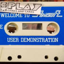 WELCOME TO AMSOFT CONTINUOUS / USER DEMONSTRATION CINTA TAPE PAL ESPAÑA AMSTRAD