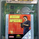 MISSION IMPOSSIBLE PAL ESPAÑA CARTUCHO GAME BOY COLOR GBC ENVIO CERTIFICADO/ 24H