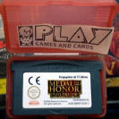 MEDAL OF HONOR INFILTRATOR PAL SOLO CARTUCHO BUEN ESTADO GAME BOY ADVANCE GBA