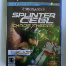 SPLINTER CELL CHAOS THEORY PLAYSTATION 2 PS2 PAL ESPAÑA NUEVO PRECINTADO SELED