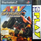 ATV OFFROAD QUADS EXTREMOS PAL ESPAÑA PS2 PLAYSTATION 2 ENVIO CERTIFICADO / 24H