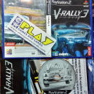 V RALLY 3 PAL ESPAÑA COMPLETO SONY PS2 PLAYSTATION 2 ENVIO CERTIFICADO / 24H