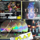 VIRUS HYBRID ADVENTURE NTSC JAPAN SEGA SATURN ENVIO CERTIFICADO/ 24H