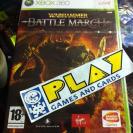 WARHAMMER WAR HAMMER BATTLE MARCH XBOX 360 PAL ESPAÑA NUEVO ENTREGA AGENCIA 24H