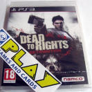 DEAD TO RIGHTS RETRIBUTION PS3 NUEVO PRECINTADO SEALED