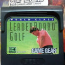 WORLD CLASS LEADER BOARD GOLF SEGA GAME GEAR SOLO CARTUCHO PAL ENVIO CERTIFICADO