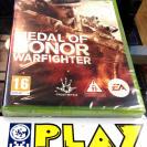 MEDAL OF HONOR WARFIGHTER XBOX 360 PAL ESPAÑA NUEVO PRECINTADO ENTREGA AGENCIA