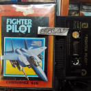 FIGHTER PILOT CINTA TAPE CASSETTE VERSION ESPAÑOLA COMMODORE 64K ENVIO 24H