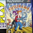 FUTURAMA  PAL ESPAÑA PS2 PLAYSTATION 2 ENVIO CERTIFICADO / AGENCIA 24H