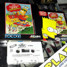 THE SIMPSON SIMPSONS BART VS THE SPACE MUTANTS AMSTRAD CASSETE CINTA OCEAN