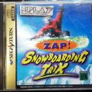 ZAP! SNOWBOARDING TRIX NTSC JAPAN IMPORT SEGA SATURN ENVIO CERTIFICADO / 24H