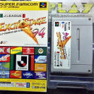 J League Excite Stage 94 Capcom's Soccer Shoutout SNES SUPER NINTENDO FAMICOM