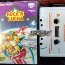ROCK N LUCHA WRESTLE CINTA TAPE PAL ESPAÑA AMSTRAD ERBE SOFTWARE ENVIO 24H