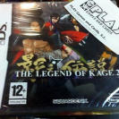 THE LEGEND OF KAGE 2  DS PAL ESPAÑA NUEVO PRECINTADO ENTREGA AGENCIA NEW SQUARE