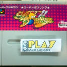 SUPER BOWLING SUPER FAMICOM CARTUCHO JAPAN IMPORT SFC SNES NINTENDO BUEN ESTADO