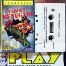 TARGET RENEGADE ERBE SOFTWARE COMMODORE 64 PAL ESPAÑA VERSION BUEN ESTADO