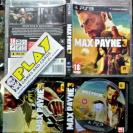 MAX PAYNE 3 PAL COMPLETO MUY BUEN ESTADO PS3 PLAYSTATION 3 ENVIO CERTIFICADO/24H