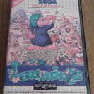 Lemmings Master System Pal Esp