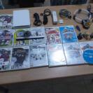 Nintendo Wii + 11 JUEGOS `+ ACCESORIOS