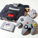 Nintendo 64, Expansion pak, juego y accesorios.