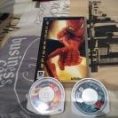 Spiderman 2+dos juegos sueltos (Ghost rider & Ghost recon predator)+película