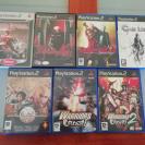 Pack de 7 juegos PS2